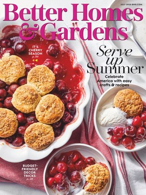 Better Homes & Gardens Magazine | 7/1/2020 Cover