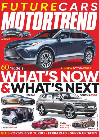 Motor Trend Cover - 7/1/2020
