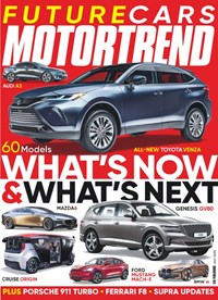 Motor Trend Magazine   7/2020 Cover