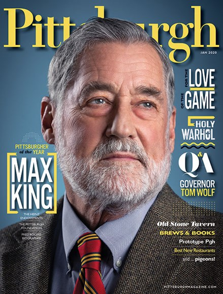 Pittsburgh Magazine Cover - 1/1/2020