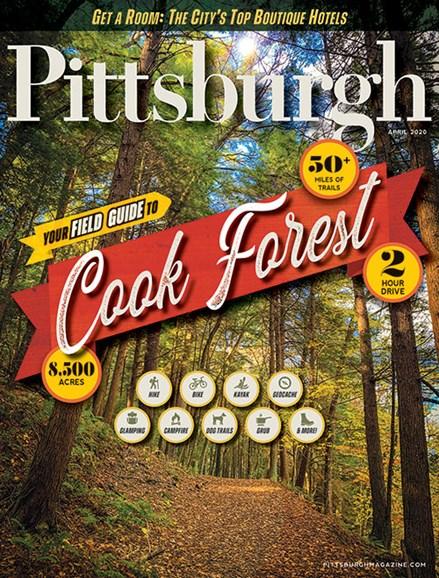 Pittsburgh Magazine Cover - 4/1/2020