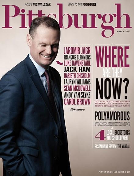Pittsburgh Magazine Cover - 3/1/2020
