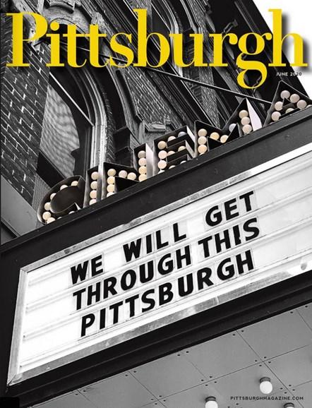 Pittsburgh Magazine Cover - 6/1/2020