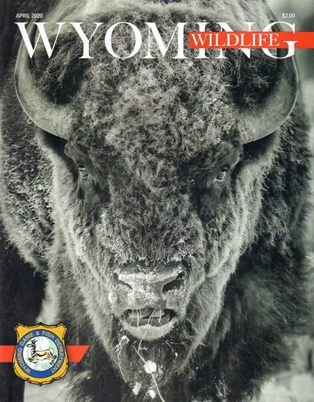 Wyoming Wildlife Cover - 4/1/2020