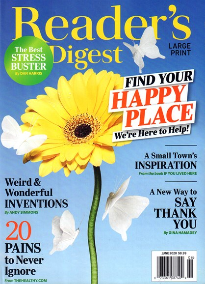 Reader's Digest - Large Print Edition Cover - 6/1/2020