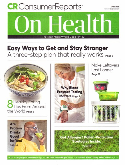 Consumer Reports On Health Cover - 4/1/2020