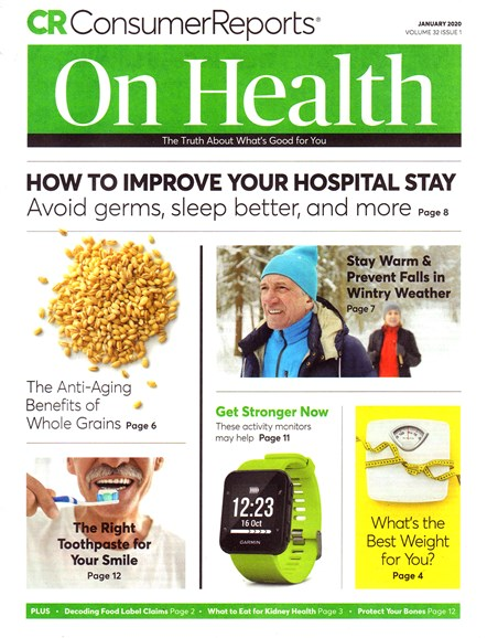Consumer Reports On Health Cover - 1/1/2020