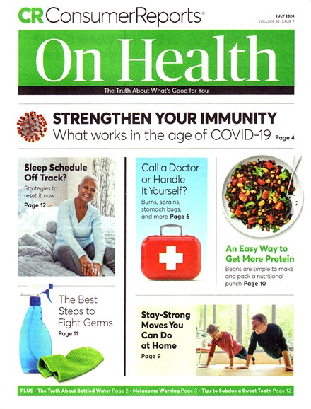 Consumer Reports On Health Cover - 7/1/2020