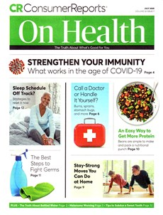 Consumer Reports On Health | 7/2020 Cover