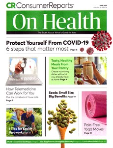 Consumer Reports On Health | 6/2020 Cover