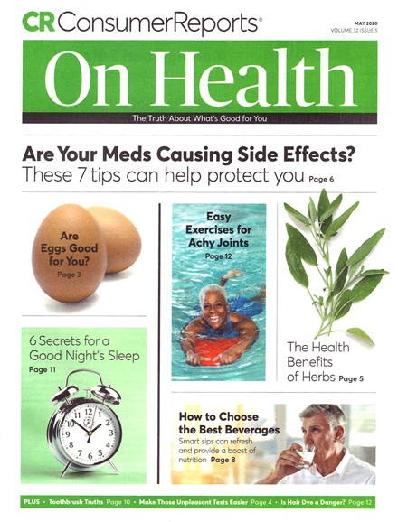 Consumer Reports On Health Cover - 5/1/2020