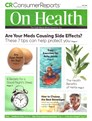 Consumer Reports On Health Magazine | 5/2020 Cover