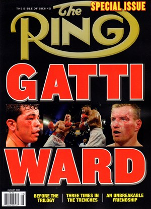 Ring Boxing Magazine | 8/2020 Cover