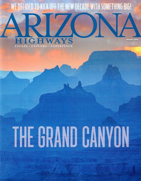 Arizona Highways Cover - 1/1/2020