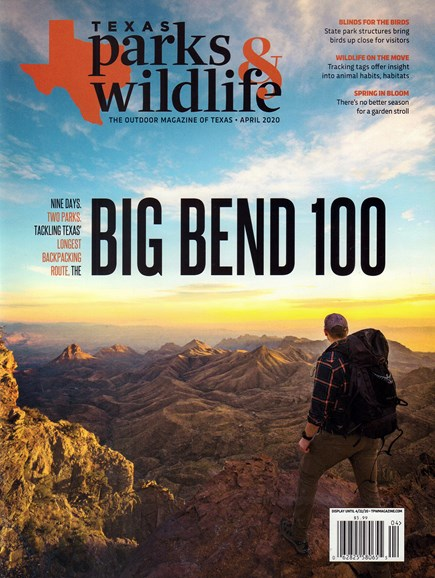 Texas Parks & Wildlife Cover - 4/1/2020