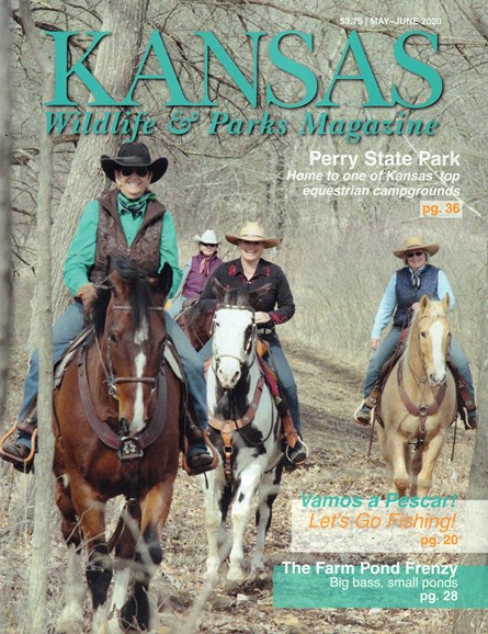 Kansas Wildlife & Parks Cover - 5/1/2020