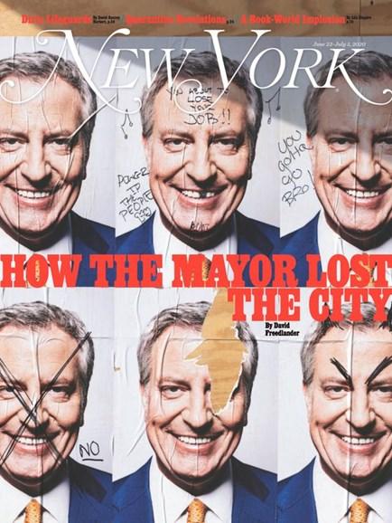 New York Magazine Cover - 6/22/2020