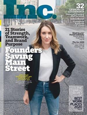 Inc. Magazine | 5/2020 Cover