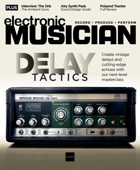 Electronic Musician Cover - 8/1/2020