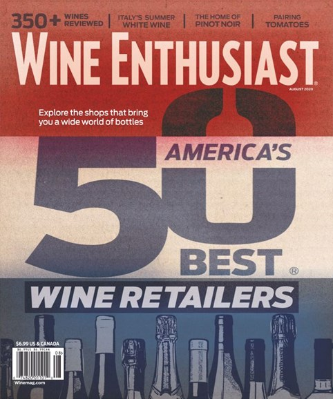 Wine Enthusiast Cover - 8/1/2020