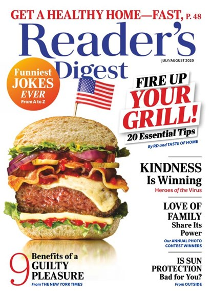 Reader's Digest Cover - 7/1/2020
