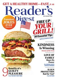 Reader's Digest Magazine | 7/2020 Cover