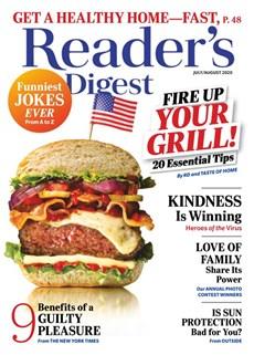 Reader's Digest | 7/2020 Cover
