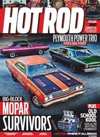 Hot Rod Magazine | 8/2020 Cover