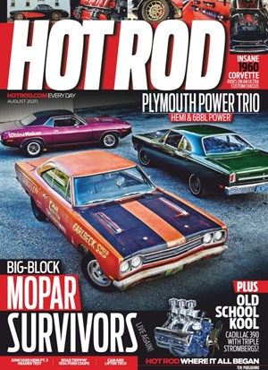 Hot Rod Magazine | 8/2020 Cover