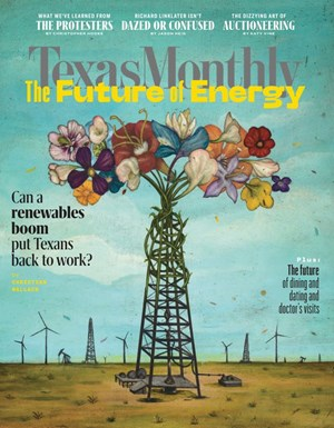 Texas Monthly Magazine | 7/2020 Cover