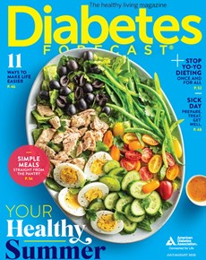 Diabetes Forecast | 7/2020 Cover