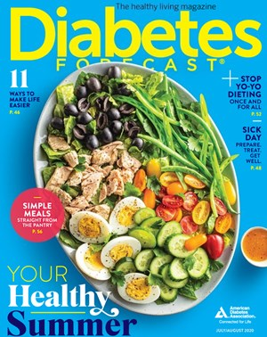 Diabetes Forecast Magazine | 7/2020 Cover