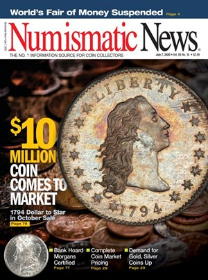 Numismatic News Magazine | 7/7/2020 Cover