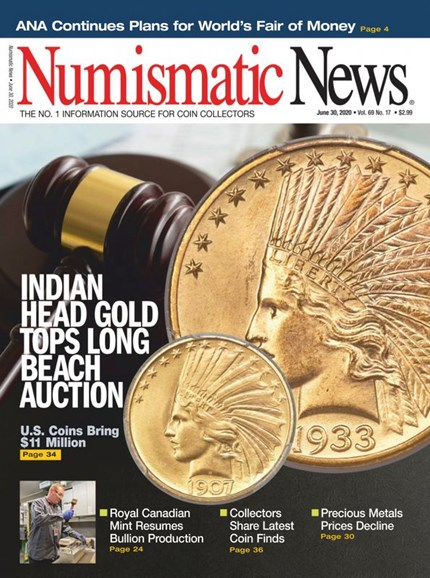 Numismatic News Cover - 6/30/2020