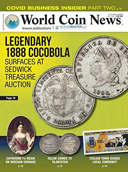 World Coin News Cover - 7/1/2020