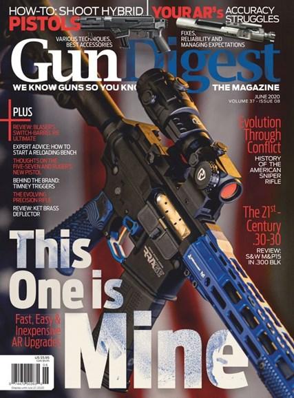 Gun Digest Cover - 6/1/2020