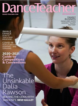 Dance Teacher Magazine | 7/2020 Cover