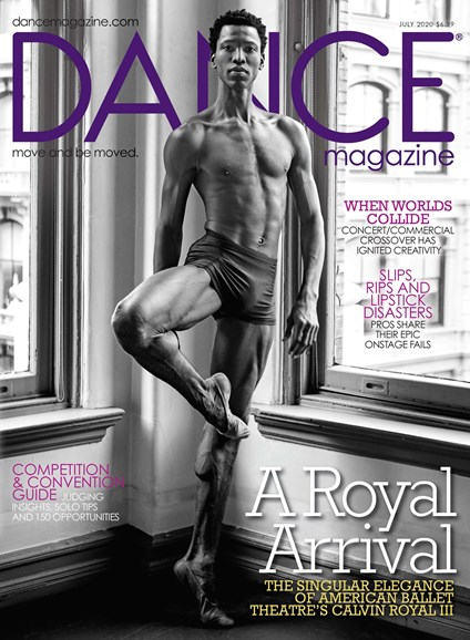 Dance Magazine Cover - 7/1/2020