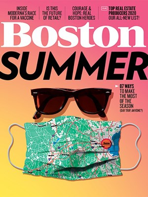 Boston Magazine | 6/2020 Cover