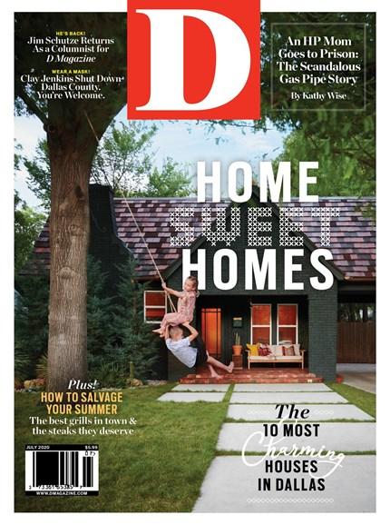 D Magazine Cover - 7/1/2020