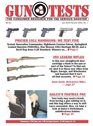Gun Tests Magazine | 7/2020 Cover