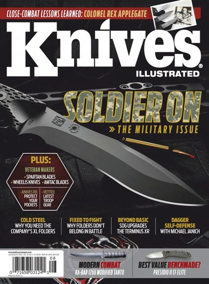 Knives Illustrated Cover - 7/1/2020