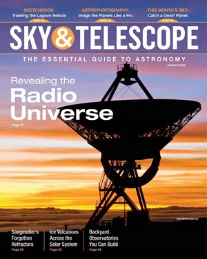 Sky & Telescope Magazine | 8/2020 Cover