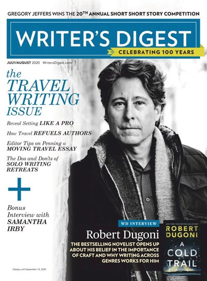 Writer's Digest Cover - 7/1/2020