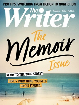 The Writer Magazine | 8/2020 Cover