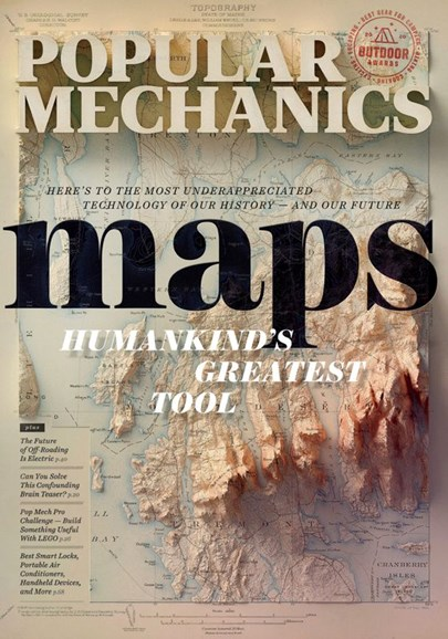 Popular Mechanics Cover - 8/1/2020