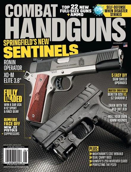 Combat Handguns Cover - 7/1/2020