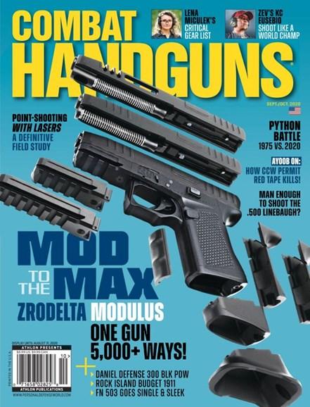 Combat Handguns Cover - 9/1/2020