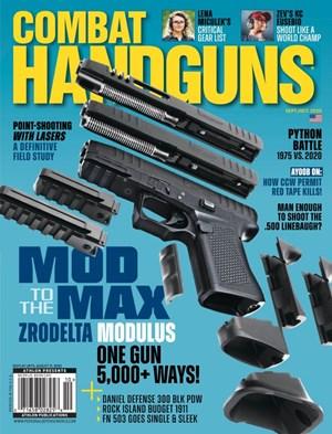 Combat Handguns Magazine | 9/2020 Cover
