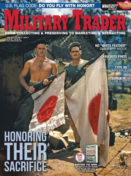 Military Trader Cover - 6/1/2020